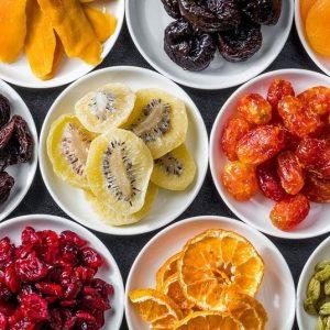 طریقه خشک کردن میوه